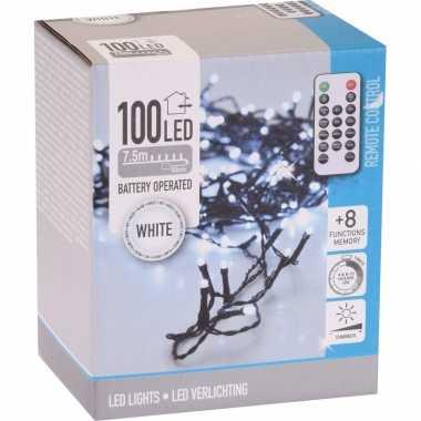 Kerstboom verlichting afstandsbediening helder buiten 100 lampjes