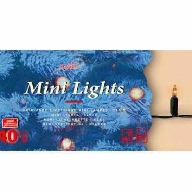 Kerstboom verlichting helder buiten 40 lampjes
