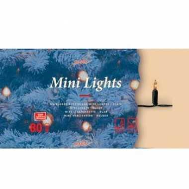 Kerstboom verlichting helder buiten 80 lampjes