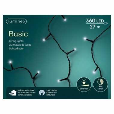 Kerstboom verlichting helder wit buiten lichtsnoeren 360 lampjes