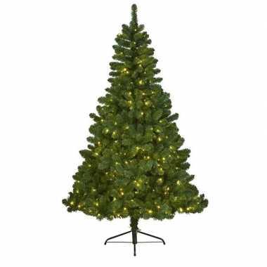 Kunst kerstboom imperial pine met verlichting 150 cm