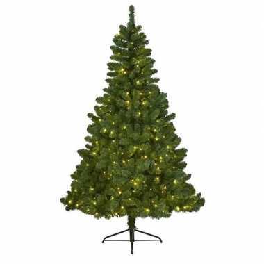 Kunst kerstboom imperial pine met verlichting 210 cm