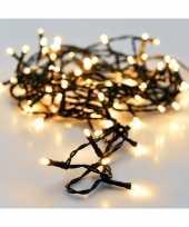 6x kerstboom verlichting 96 lampjes warm wit op batterij
