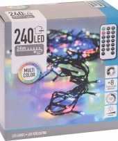 Kerstboom verlichting afstandsbediening gekleurd buiten 240 lampjes