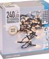 Kerstboom verlichting afstandsbediening warm wit buiten 480 lampjes