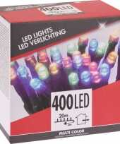 Kerstboom verlichting budget gekleurd buiten 400 lampjes