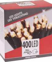 Kerstboom verlichting budget warm wit buiten 400 lampjes