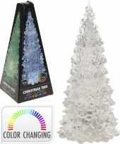 Kleur veranderende led kerstboom 22 cm
